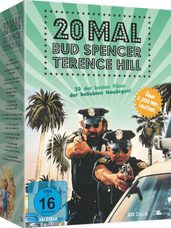 20 mal Bud Spencer und Terence Hill (20 DVDs)