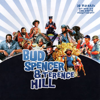 30x Bud Spencer & Terence Hill (30 Blu-rays)