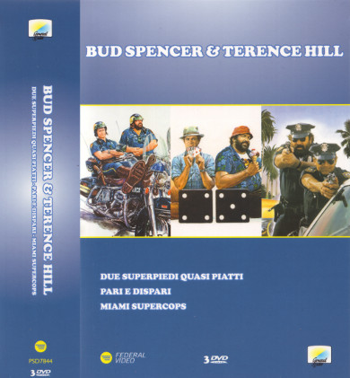 Bud Spencer & Terence Hill (3 DVDs)