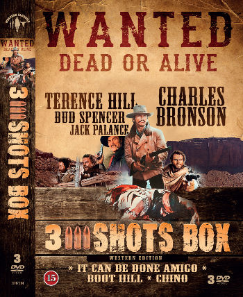 3 Shots Box (3 DVDs)