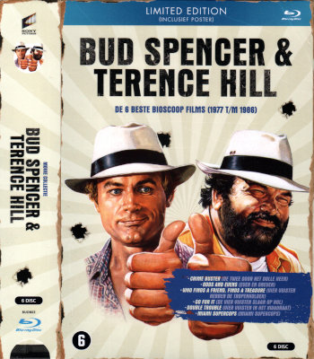Bud Spencer & Terence Hill - De 6 beste Bioscoop Films - Limited Edition