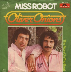 Oliver Onions - Miss Robot / The Man on the Boat