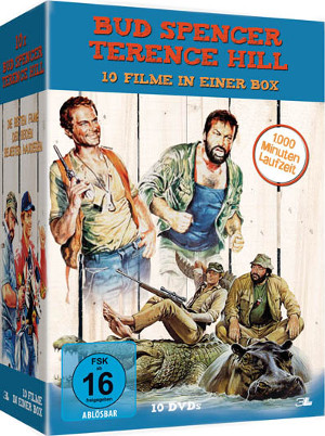 Bud Spencer - Terence Hill - 10 Filme in einer Box (10 DVDs)