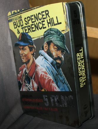 Coffret Bud Spencer & Terence Hill Tin Box (5 DVDs)