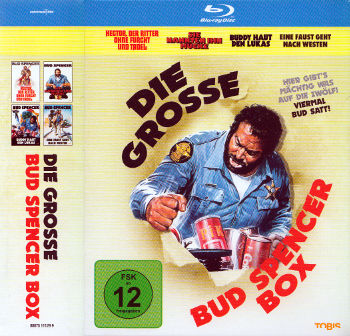 Die grosse Bud Spencer Box (4 Blu-rays)