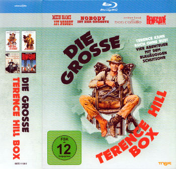 Die grosse Terence Hill Box (4 Blu-rays)