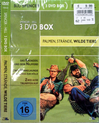 Spencer - Hill - 3 DVD Box - Palmen, Strände, wilde Tiere (3 DVDs)