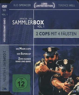 Spencer - Hill Sammlerbox Vol. 1 - 2 Cops mit 4 Fäusten