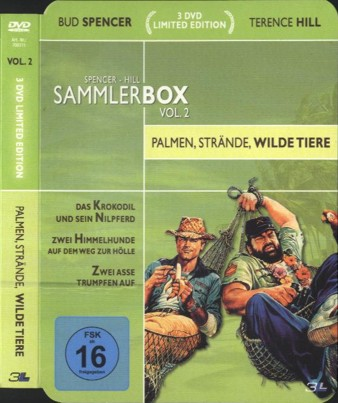 Spencer - Hill Sammlerbox Vol. 2 - Palmen, Strände, wilde Tiere