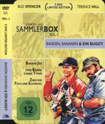 Spencer - Hill Sammlerbox Vol. 3 - Banden, Bananen & ein Buggy