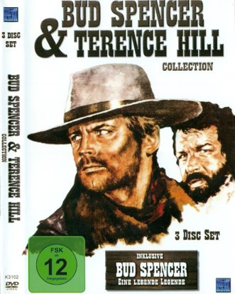 Bud Spencer & Terence Hill Collection (3 Disc Set) inkl. Bud Spencer - Eine lebende Legende