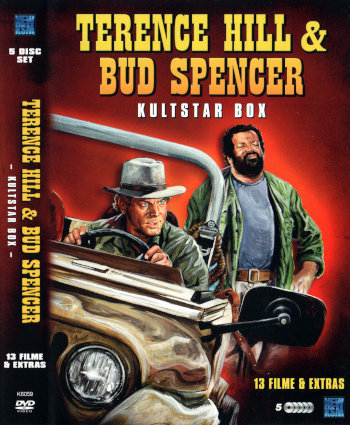 Terence Hill & Bud Spencer Kultstar Box (5 DVDs)
