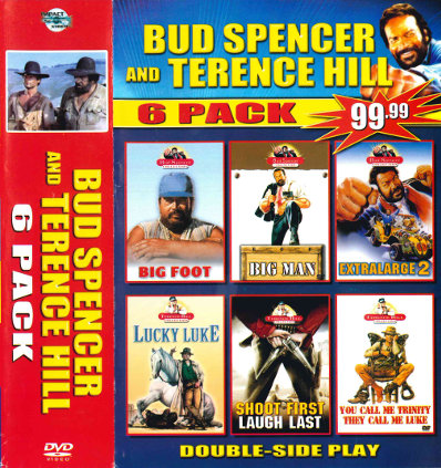 Bud Spencer and Terence Hill - 6 Pack