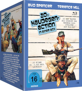 20x Haudegen-Action in einer Box (20 Blu-rays)
