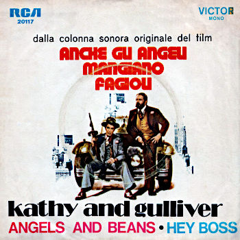 Kathy and Gulliver - Angels and Beans / Hey Boss