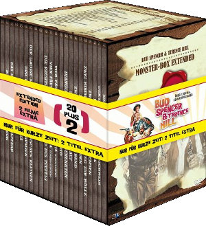 Bud Spencer / Terence Hill Monster-Box Extended (22 DVDs)
