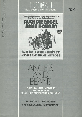 Angels And Beans (Notenheft)