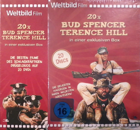 20x Bud Spencer & Terence Hill - Weltbild Edition (20 DVDs)