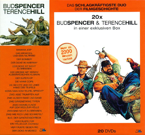 20x Bud Spencer & Terence Hill (20 DVDs)