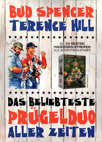 Bud Spencer und Terence Hill Adventskalender (24 DVDs)