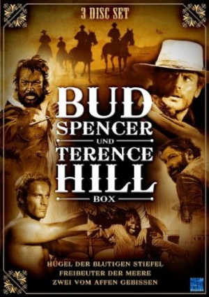 Bud Spencer & Terence Hill Box Vol. 2 (3 DVDs)