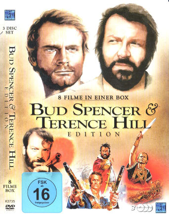 Bud Spencer & Terence Hill Edition - 8 Filme in einer Box (3 DVDs)