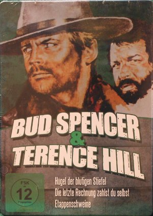 dvd bud spencer terence hill steelbook gr n bud spencer terence hill datenbank. Black Bedroom Furniture Sets. Home Design Ideas