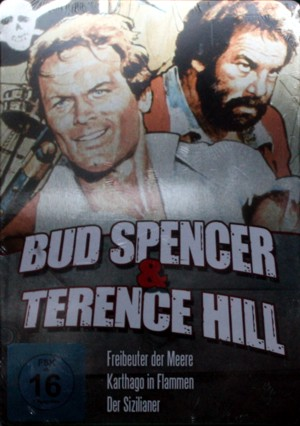 Bud Spencer & Terence Hill Steelbook (rot)