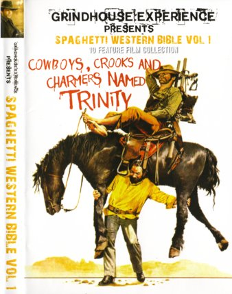 Spaghetti Western Bible 1 - Cowboys, Crooks and Charmers named Trinity (3 DVDs)