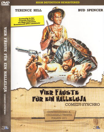 Vier Fäuste für ein Halleluja - Comedy-Synchro (New Digital Remastered) (Bonus-DVD)