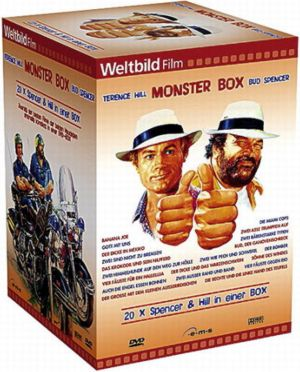 Bud Spencer und Terence Hill Monster Box, Weltbild-Edition (20 DVDs)