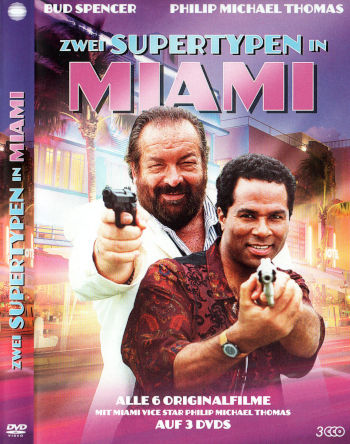 Zwei Supertypen in Miami - 1. Staffel (3 DVDs)