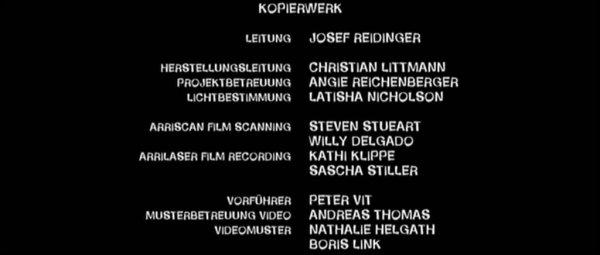 Kurzfilm Tutorial Der Abspann 10