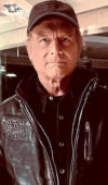 Terence Hill in his leather jacket