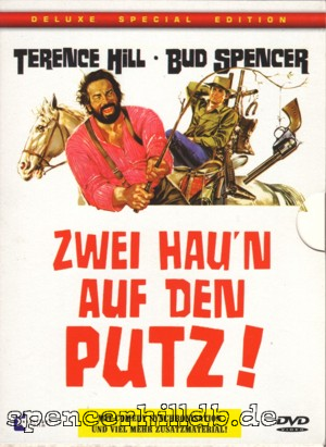dvd zwei hau 39 n auf den putz deluxe collector 39 s edition bud spencer terence hill datenbank. Black Bedroom Furniture Sets. Home Design Ideas