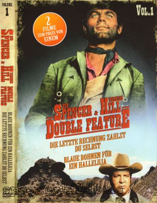 dvd bud spencer terence hill double feature vol 1 bud spencer terence hill datenbank. Black Bedroom Furniture Sets. Home Design Ideas
