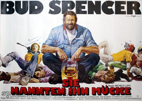 plakat sie nannten ihn m cke bud spencer terence. Black Bedroom Furniture Sets. Home Design Ideas