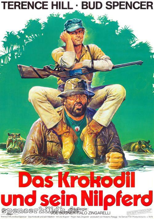 Plakat - Das Krokodil ...