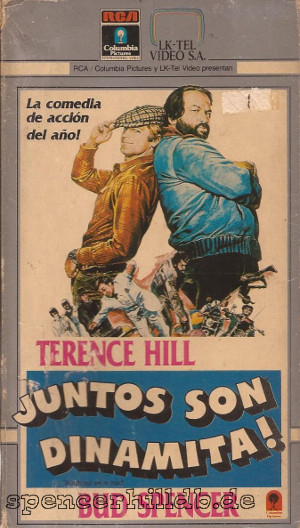 Vhs Juntos Son Dinamita Bud Spencer Terence Hill Database