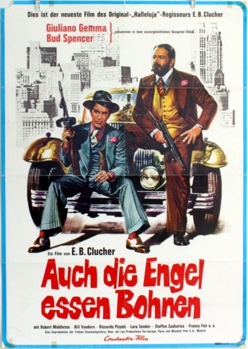 Plakat Auch Die Engel Essen Bohnen Bud Spencer